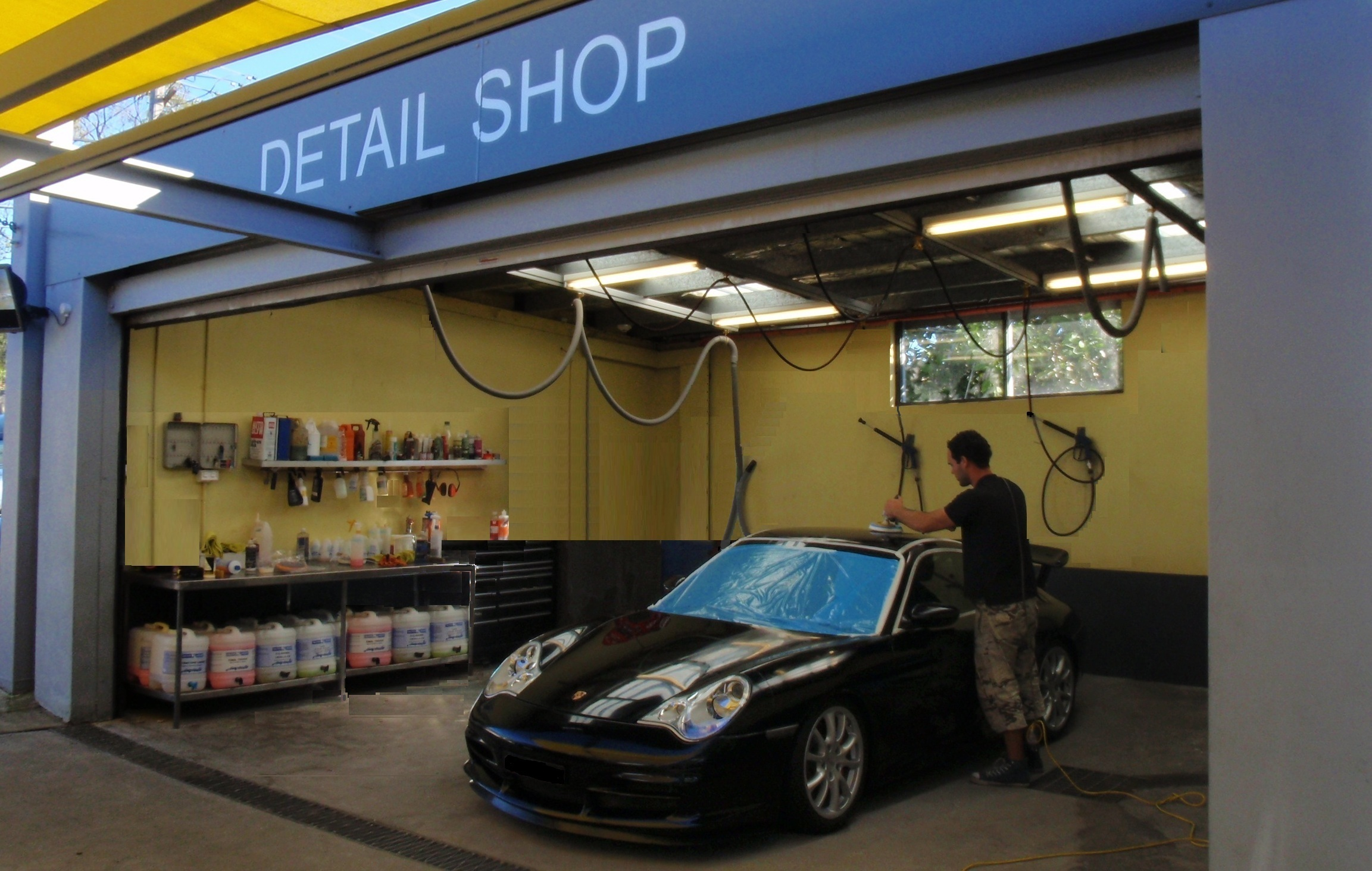 Professional car detailing equipment car detailing near me for Equipement cafe